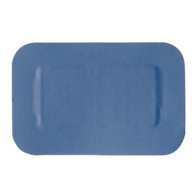 Pflaster 75 x 50 mm, blau - 50 Stück