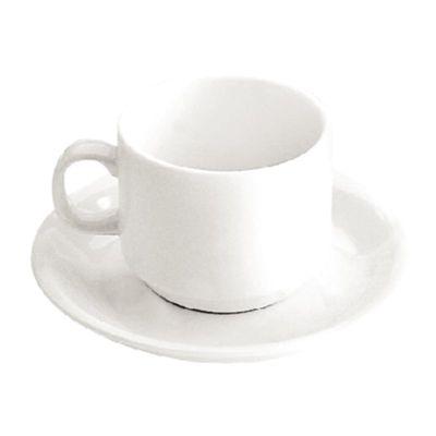 Tasse à café Olympia blanche 20 cl