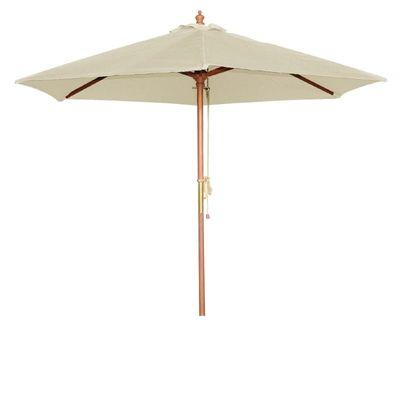 Sonnenschirm Bolero rund cremefarben 2,5 Meter