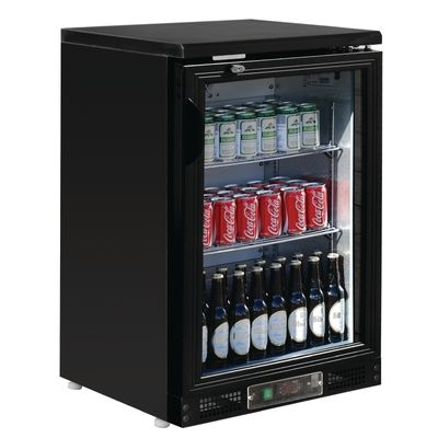 Polar Bardisplay Kühlvitrine 1-türig für 104 Flaschen