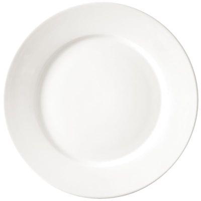 Assiette Athena Hotelware à bord large, 20,2 cm