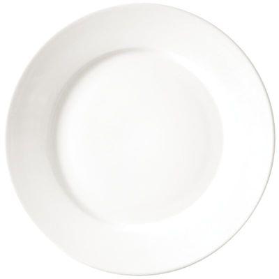 Assiette Athena Hotelware à bord large, 22,8 cm