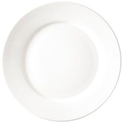 Assiette Athena Hotelware à bord large, 25,4 cm