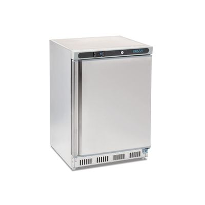 Edelstahltiefkühlschrank Polar 140L