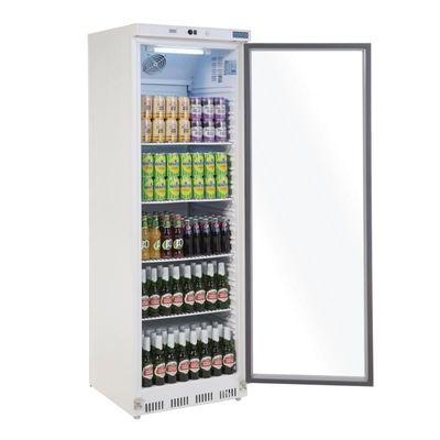 Réfrigérateur de stockage Polar 400 litres avec porte vitrée