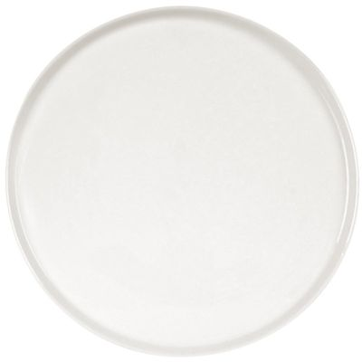 Assiette à Pizza Olympia blanche Ø 33cm.