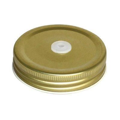 Schraubdeckel mit Halmöffnung für Drinking Jar CE678