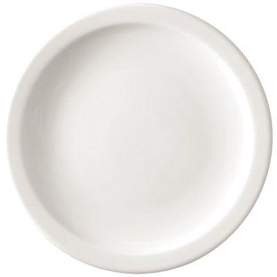 Assiette Athena Hotelware à bord étroit, 22,6 cm