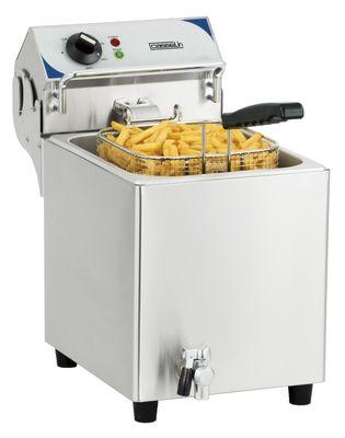 CASSELIN - Friteuse électrique avec vanne de vidange  7 litres