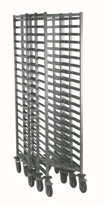 Chariot échelle en inox ECO GN 1/1 Modèle Z à 20 niveaux