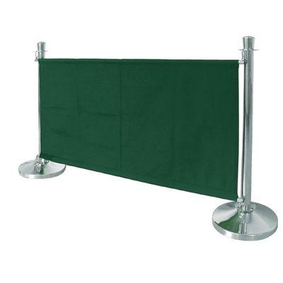 Bolero Segeltuch-Abschirmwand dunkelgrün