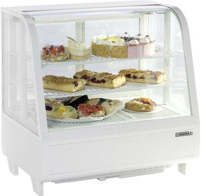 CASSELIN - Vitrine réfrigérée à poser 100L Blanche