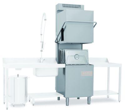 Lave-vaisselle à capot Dexion D626LKPNRG avec système de récupération de chaleur