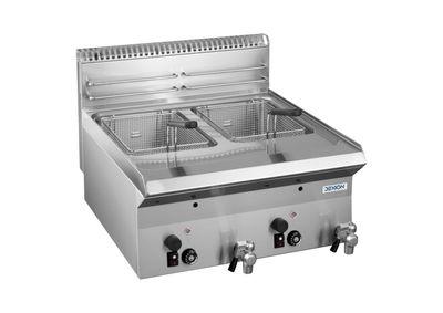 Friteuse à gaz Dexion série 65 - 60/65 - appareil de table
