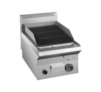 Grill à pierre de lave à gaz Dexion série 65 - 40/65 - appareil de table