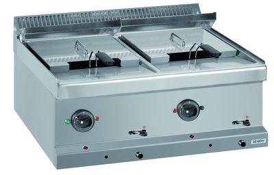 Elektrofritteuse Dexion Serie 77 - 70/70 12+12 Liter - Tischgerät
