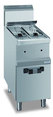 Friteuse à gaz Dexion série 77 – 40/70 7+7 litres