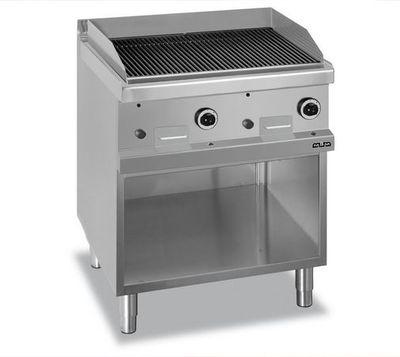 Grill à pierre de lave à gaz Dexion série 77 - 80/70