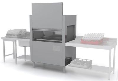 Lave-vaisselle à avancement automatique Dexion D821LTDS avec entrée à gauche