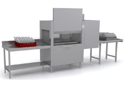 Lave-vaisselle à avancement automatique Dexion D821LTDSA avec unité de séchage et entrée à gauche