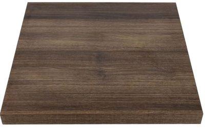 Plateau carré Bolero chêne rustique 60 cm