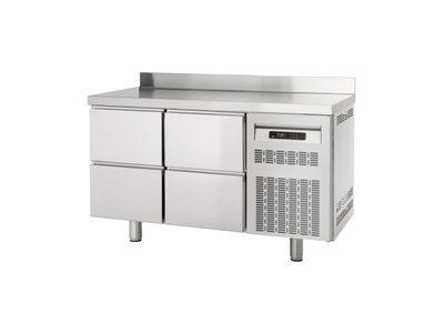 Table réfrigérée Profi 600 0/4 avec dosseret