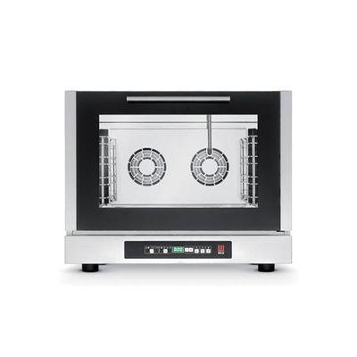 Tecnoeka Digitaler Elektro-Konvektionsofen mit Dampf EKF 411 D UD