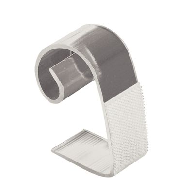 Klettbandtischklipp 25-50mm für Skirtings - 10 Stück