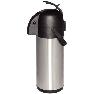 Olympia Pumpkanne aus Edelstahl 4 Liter