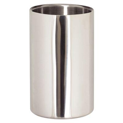 Refroidisseur à vin, à double paroi en acier inoxydable poli