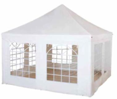 Tente de réception Cubus 400 x 400 cm