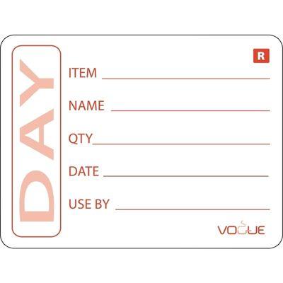 Étiquette de produit Vogue - 500 pièces
