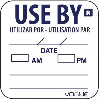 Étiquette «À utiliser jusqu'au / Use by»