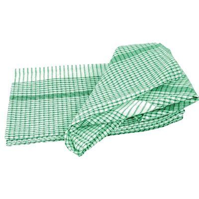 Torchon Vogue usage général vert - 10 pièces