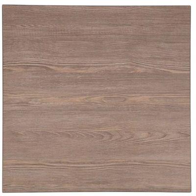 Plateau de table carré Bolero vintage en bois 60 cm