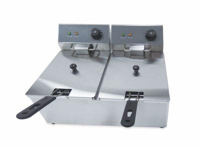 Elektro-Doppel-Fritteuse ECO 11+11 Liter