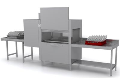 Lave-vaisselle à avancement automatique Dexion D821LTDDA avec unité de séchage et entrée à droite