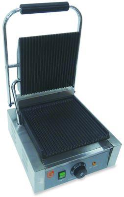 Elektro-Kontaktgrill ECO 1,8 kW, gerillt
