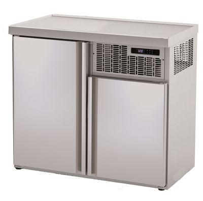 Armoire réfrigérée pour fûts Premium 2 x 50 litres