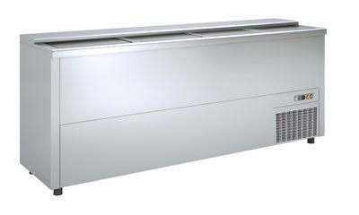 Flaschenkühltruhe Premium 580 Liter - Edelstahl