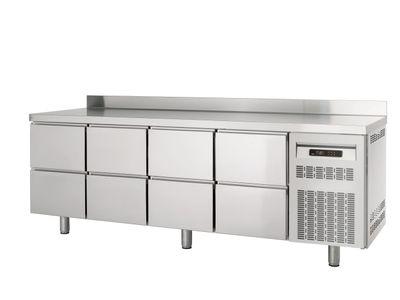 Table réfrigérée Profi 600 0/8 avec dosseret
