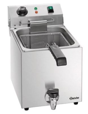Bartscher Elektro-Fritteuse SNACK III Plus 9 Liter
