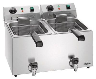 Bartscher Elektro-Fritteuse SNACK IV Plus 2 x 9L