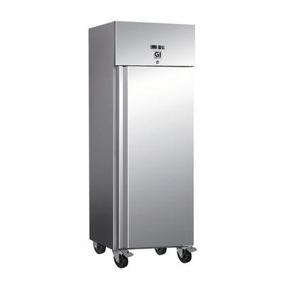 Gastro-Inox Tiefkühlschrank 600 Liter auf Rollen