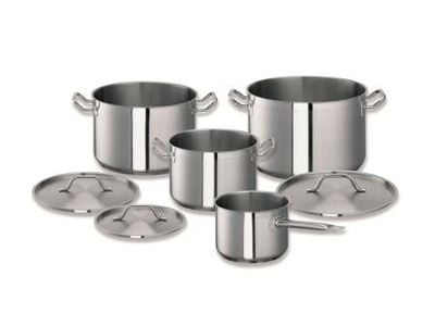 Lot de casseroles, 7 pièces, avec couvercle