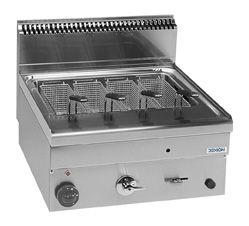Cuiseur à pâtes à gaz Dexion série 66 - 60/60 – à poser – 25 litres