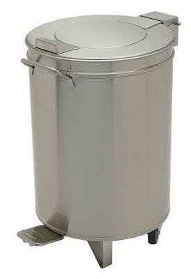 Poubelle avec couvercle relevable, 50 litres