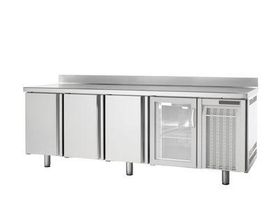 Table congélation Premium 4/0 avec dosseret