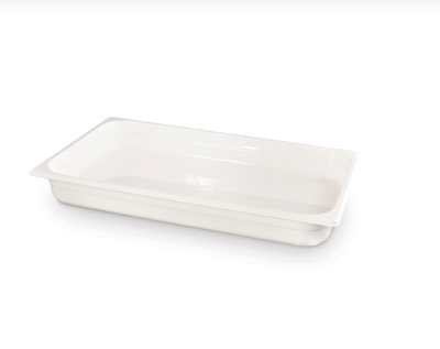 Gastronormbehälter Polycarbonat Weiß - GN1/1-65