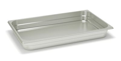 Rieber Edelstahl GN-Behälter GN 1/1 - 150 mm, Inhalt: 18,4 Liter, Mod. 11 150